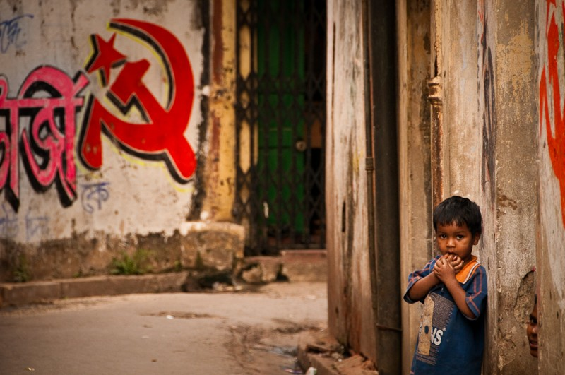 Communism on the streets of India