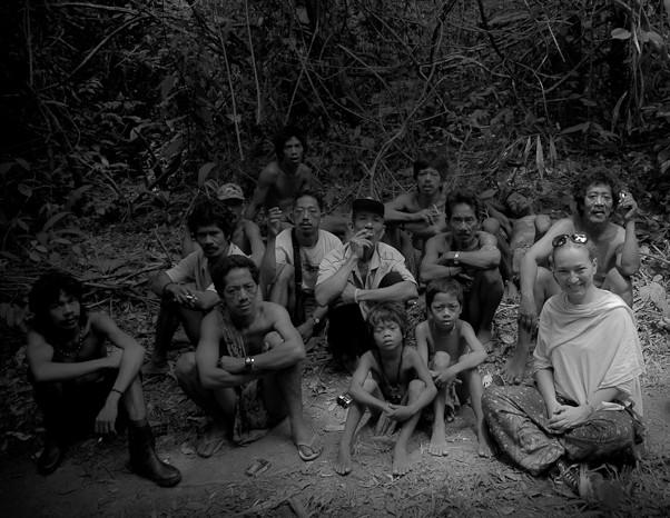 with Orang Rimba