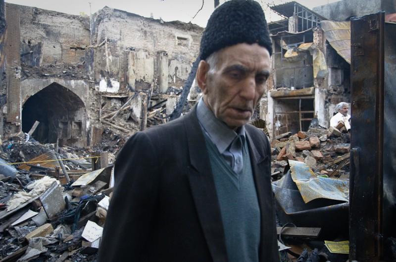 Old man in Iran