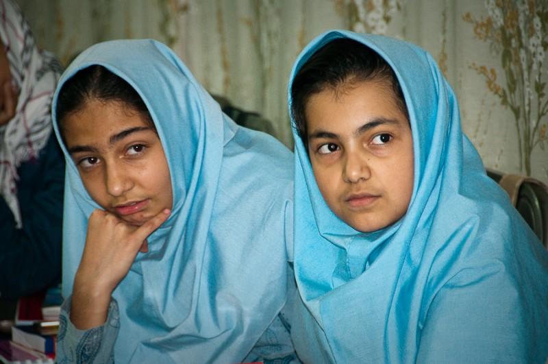 Iranian school girls