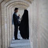 Hideaway in the corridors of Isfahan, Iran