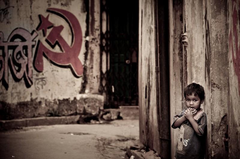 In the back alley Kolkata