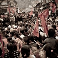 Communist party gathering in India