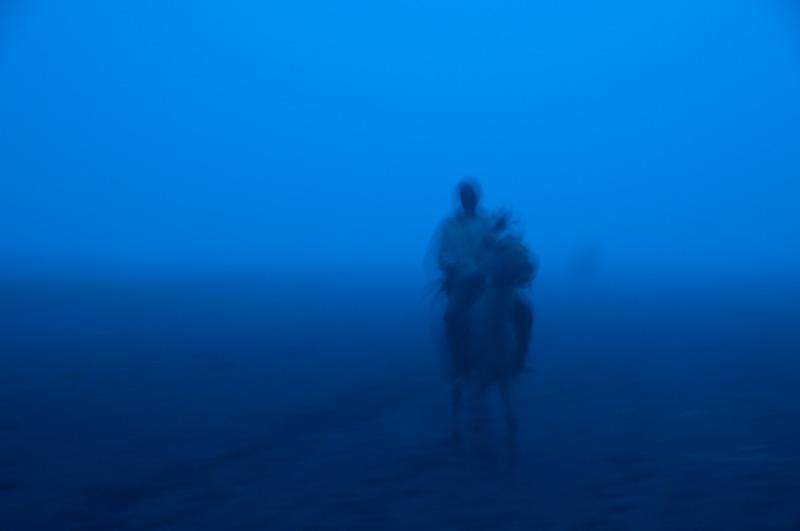 Jeździec we mgle
