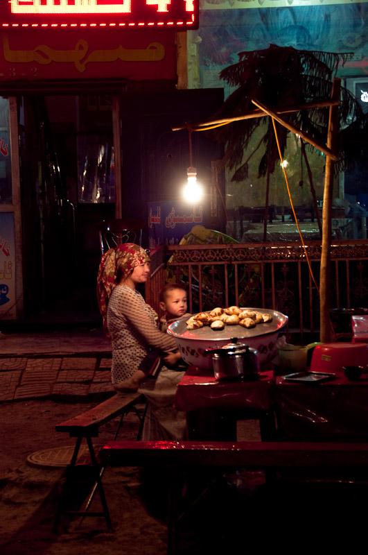 Night watch, Kashgar