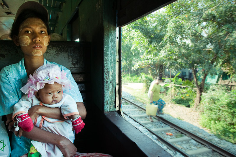Train to Mandalay, Burma