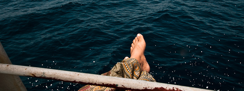On the cargo ship via Indonesia, Maluku