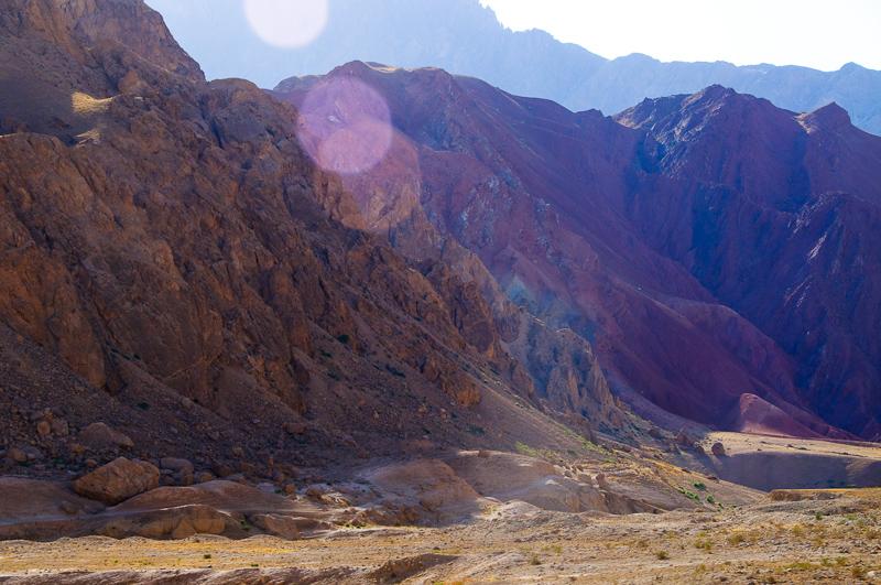 Pustynia, Afganistan