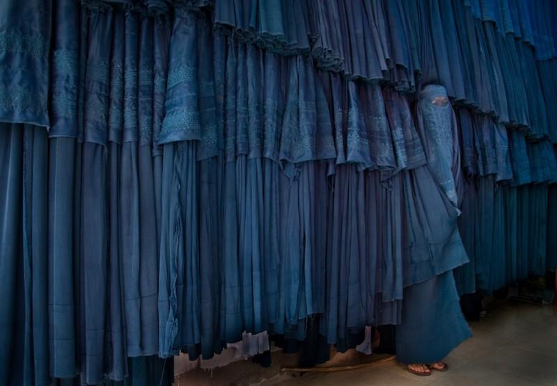 U afgańskiego krawca burek