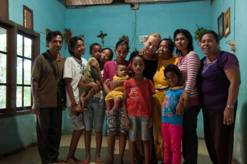 Z rodziną na wyspach Maluku