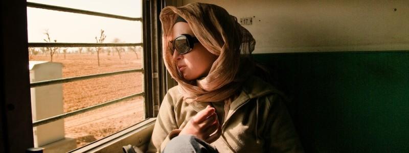 W indyjskim pociągu