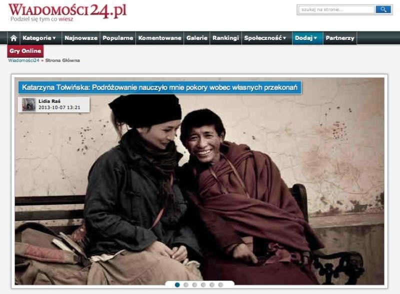 Wywiad w Wiadomosci24